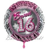 Sweet 16 Luftballon zum 16. Geburtstag