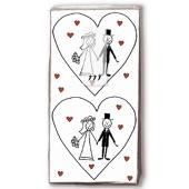 Taschentücher Marriage zur Hochzeit