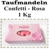 Taufmandeln Confetti, Rosa