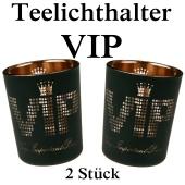 VIP Teelichthalter, VIP-Partydekoration