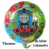 Thomas die kleine Lokomotive Luftballon mit Ballongas Helium