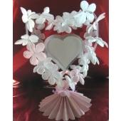 Hochzeit Dekoration Tischdeko Blushing Bouquet