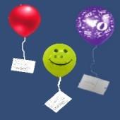 Ballonflugkarten / 100 Stück