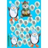 Pinguin & Polar Bär (Midi)