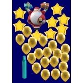 Weihnachten Luftballons, Weihnachtsdekoration, Weihnachts-Midi Set 3