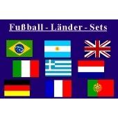 Fußball-Länder - Set 1