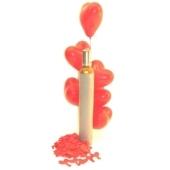 Midi-Set 1, 30 rote Herzluftballons mit Helium / inkl. Rückporto