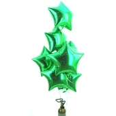 """Weihnachtsdekoration, Weihnachtsballons Sterne, Weihnachts-Mini Set """"10"""""""