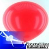 Ballonband mit Patentverschlüssen - 100 Stck