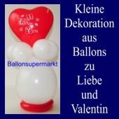 Dekoration zu Liebe und Valentinstag 02