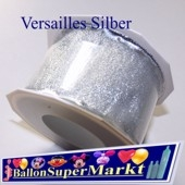 Deko-Zierband Versailles, Silber, 1 Meter