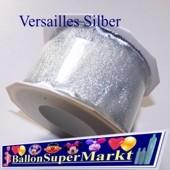Deko-Zierband Versailles, Silber, 1 Rolle