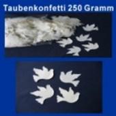 Taubenkonfetti Hochzeit, 250 Gramm