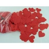 Herzkonfetti / Rot / 1000gr.
