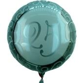 25 Jahre Geburtstag / Jubiläum, Luftballon mit Ballongas