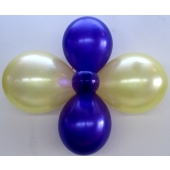 20 Stück Ballon- Blumen 1