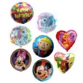 10 Folienballons 45cm