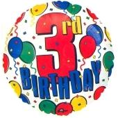 3rd Birthday (heliumgefüllt)