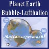 Planet Earth, Bubble Luftballon (mit Helium)