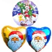 Weihnachtsglückwünsche Nikolaus & Bugs Bunny & Tweety