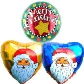 Weihnachtsglückwünsche Nikolaus & Merry Christmas