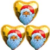 Weihnachtsglückwünsche Nikolaus Gold