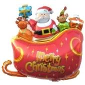 Santa Sledge (heliumgefüllt)