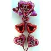 Valentine Bouquet 2 (heliumgefüllt)