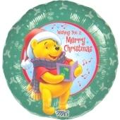 Pooh Merry Christmas (heliumgefüllt)