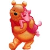 Puuh Bär Luftballon ohne Helium, Winnie the Pooh Ballon