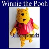 Luftballon Winnie Pooh, Folienballon ohne Ballongas