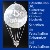 Fesselballon-50.-Jubiläum-Geburtstag-Goldene-Hochzeit