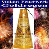 Feuerwerk, Goldflimmer Vulkan, Vulkanfeuerwerk