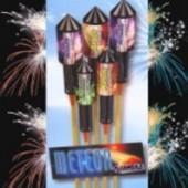 Feuerwerk, Raketen, Sortiment Meteor