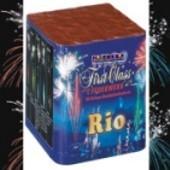 Feuerwerk, Rio, Bombettenbatterie-Feuerwerk