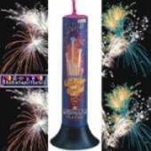 Feuerwerk, 8 Römische Lichter, Lichterorgel, Roma