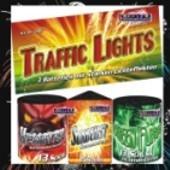 Feuerwerk, Traffic Lights, Batteriefeuerwerk