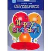 """Tischdeko-Ständer Happy Birthday """"Balloons"""""""