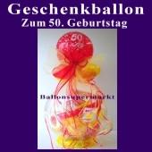 Geschenkballon zum 50. Geburtstag