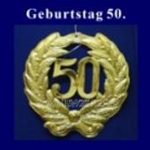 Geburtstag 50 Jahre, Zahlendeko