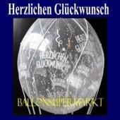 Herzlichen Glückwunsch, Geschenkballons, Stuffer