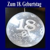Zum 18. Geburtstag, Geschenkballons, Stuffer
