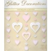 Hochzeit Glitter Decoration