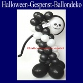 Halloween, Figur aus Luftballons, Gespenst