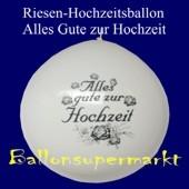 Riesen-Hochzeitsballon-Weiss