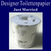Designer Toilettenpapier, Just Married