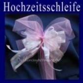 Hochzeitsschleife, Hochzeitsdeko-Zierschleife 02