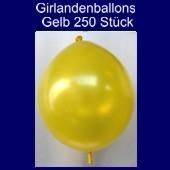 Kettenballons-Girlandenballons-Gelb-Metallic, 250 Stück