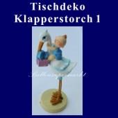 Tischdeko-Figur, Klapperstorch - 1