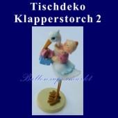 Tischdeko-Figur, Klapperstorch - 2